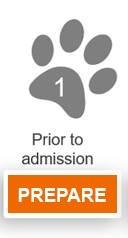 Stage 1 - Prepare: Prior to admission